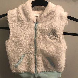 Disney Elsa Furry Vest-3T
